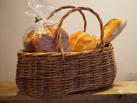 パンとカゴ