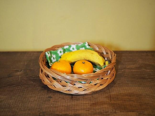 柳のテーブルバスケット2