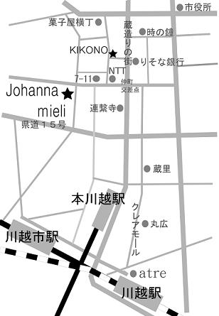 Johannamieli地図