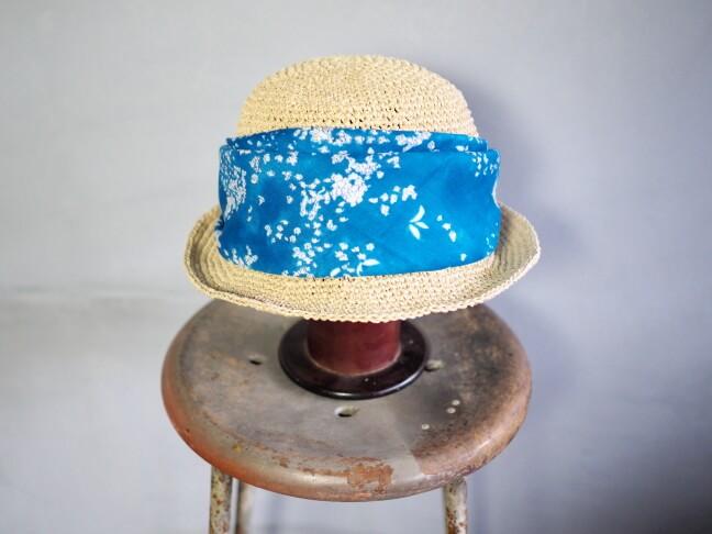 ハンカチと帽子