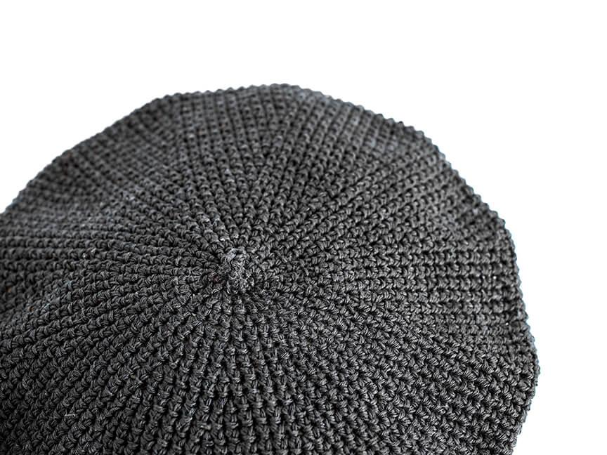 linenベレー黒