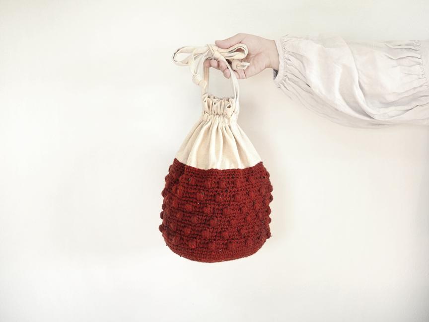 plum bag