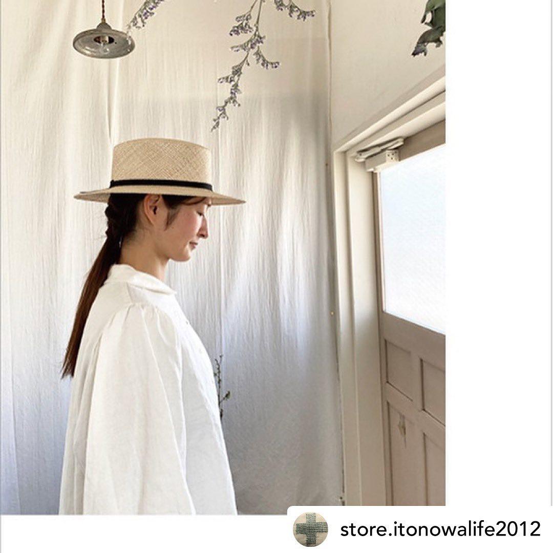・itonowa LifeKIKONO展+miho umezawa春夏5月21日(金)〜5月26日(水)・今季もitonowa Lifeさんで企画展を開催させていただけることになりました。miho umezawaさんのお洋服とご一緒させていただき嬉しいです@store.itonowalife2012 @umezawamiho ・今季新作の帽子と定番で人気のデザインのラインナップをお持ちいたします・いつも楽しく気持ちの良いitonowa Lifeさんでお会い出来ること楽しみです!・初日の21日と最終日の26日に在廊予定です・itonowa Life東京都台東区松が谷3-7-1 第5サニーハイツ 10211:00-17:00木曜日定休・#Repost @store.itonowalife2012 ・・東京は緊急事態宣言延長ですね。5月の展示もいろいろ悩み中ではありますが、5/21〜5/26KIKONO 帽子展+miho umezawa春夏は開催いたします。@kikono_shop @umezawamiho 感染予防に十分注意を払い、開催いたします。ぜひぜひ!とは言えない状況ですが、ご予定合いましたら♡明日5/12は臨時休業日とさせていただきます。みなさまどうぞよろしくお願いいたします。